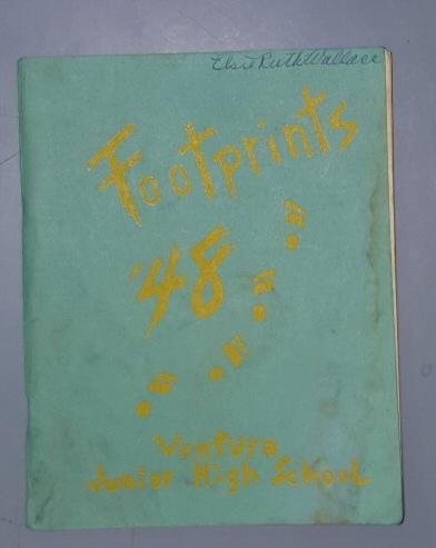 Footprints, 1948 - Ventura [California] Junior High School