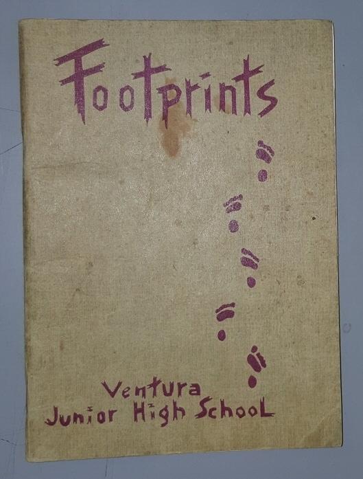 Footprints, 1945 - Ventura [California] Junior High School
