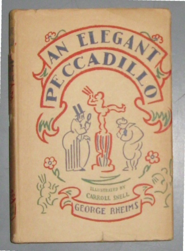 An Elegant Peccadillo by Rheims, George , Translated By samuel Putnam, Rheims, George
