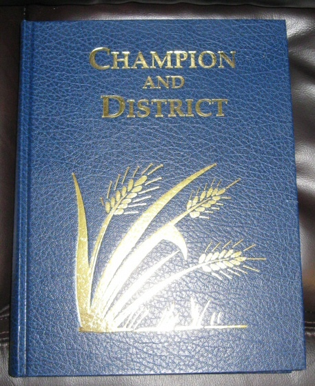 Champion and District [Alberta, Canada], Champion History Society