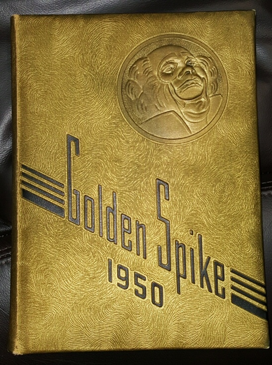 Golden Spike 1950 - (Weber High School - Weber, Utah Yearbook)