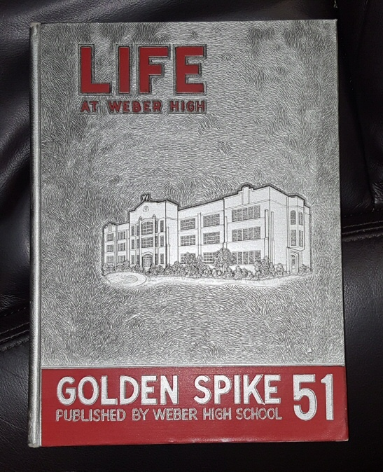 Golden Spike 1951 - (Weber High School - Weber, Utah Yearbook) Life at Weber High