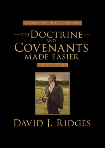 Image for Doctrine and Covenants Made Easier: Family Deluxe Edition Set (Volumes 1 & 2) (Gospel Studies Series)