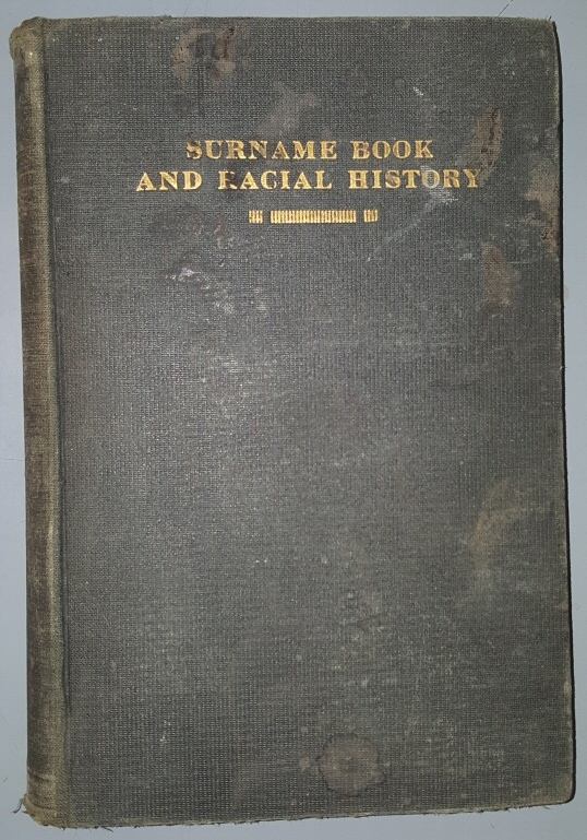 SURNAME BOOK AND RACIAL HISTORY MORMON UTAH, Gates, Susa Young, 1856-1933.